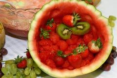 Frutta per il giorno Immagine Stock