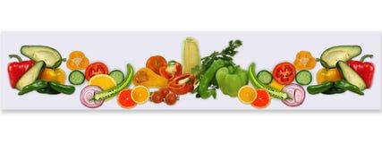 Frutta per una scheda Fotografie Stock