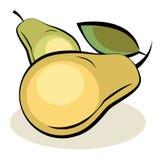 Frutta, pere illustrazione di stock