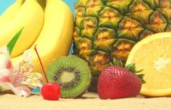 Frutta, primo piano Immagini Stock Libere da Diritti