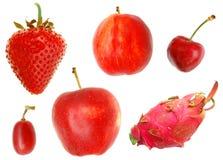 Frutta rossa Fotografie Stock Libere da Diritti