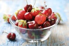 Frutta rossa Fotografia Stock