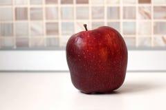 Frutta rossa della mela fotografia stock