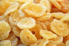 Frutta secca - ananas Fotografie Stock Libere da Diritti