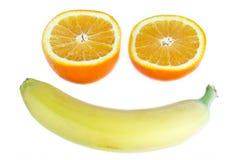 Frutta sorridente Fotografia Stock