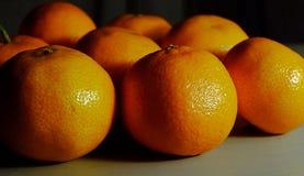 Frutta stagionale dei mandarini delle clementine Immagini Stock
