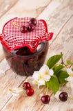 Frutta stufata ciliegia Immagini Stock