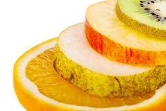 Frutta succosa, matura, affettata Fotografia Stock