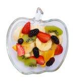 Frutta sul vassoio Fotografie Stock