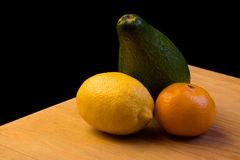 Frutta sulla tabella fotografia stock