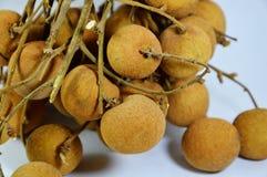 Frutta tailandese della frutta del Longan Fotografia Stock Libera da Diritti
