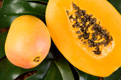 Frutta tropicale fresca Fotografie Stock