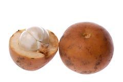 Frutta tropicale Tampoi isolato Fotografie Stock Libere da Diritti