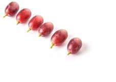 Frutta V dell'uva rossa Fotografie Stock