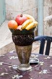 Frutta in vaso Immagine Stock Libera da Diritti