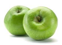 Frutta verde della mela fotografie stock