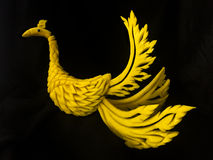 Frutta & verdura di scultura tailandesi Fotografia Stock Libera da Diritti