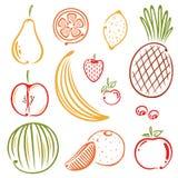 Frutti Illustrazione di Stock