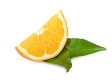 Frutti arancio isolati Fotografie Stock