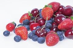 Frutti con le ciliege Fotografia Stock Libera da Diritti