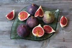 Frutti dei fichi Fotografie Stock