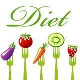 Frutti del anf di dieta Fotografie Stock
