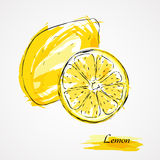 Frutti del limone Fotografia Stock Libera da Diritti