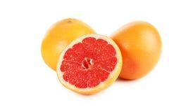 Frutti del pompelmo Immagini Stock