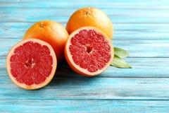 Frutti del pompelmo Fotografia Stock