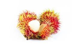 Frutti del Rambutan Fotografia Stock Libera da Diritti