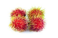 Frutti del Rambutan Fotografie Stock Libere da Diritti