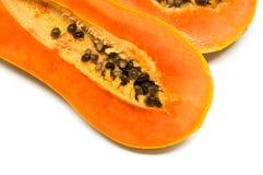 Frutti della papaia Fotografie Stock Libere da Diritti