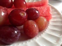 Frutti della prima colazione Fotografie Stock