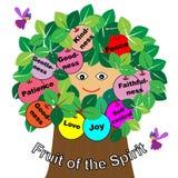 Frutti dello spirito royalty illustrazione gratis