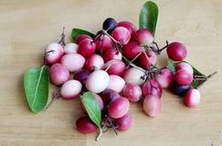 Frutti di Carunda Fotografia Stock Libera da Diritti