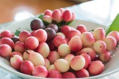 Frutti di Karonda o di Carunda Fotografie Stock Libere da Diritti