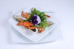 Frutti di mare, cangrejo de los mejillones Fotografía de archivo