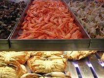 Frutti di mare da Lisbona Immagini Stock