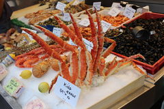 Frutti di mare dalla Normandia Immagini Stock Libere da Diritti