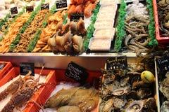 Frutti di mare dalla Normandia Fotografie Stock