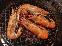 Frutti di mare nel ristorante del buffet della Tailandia Fotografia Stock