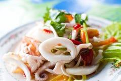 Frutti di mare tailandesi di Yum. Immagine Stock