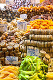 Frutti e baklava secchi Fotografia Stock