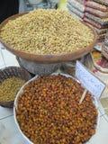 Frutti e dadi secchi a Teheran fotografia stock libera da diritti