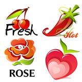 Frutti e piante Fotografia Stock