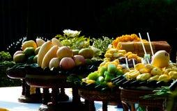 Frutti ed alimento Fotografie Stock