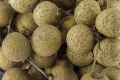 Frutti freschi dei Longans Immagini Stock