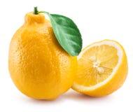 Frutti maturi del limone Fotografia Stock Libera da Diritti