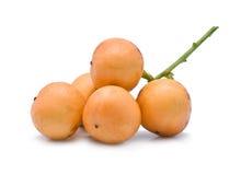 Frutti maturi di Baccaurea immagine stock