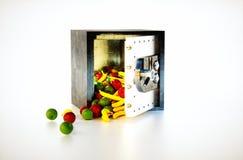 Frutti nei risparmi Fotografia Stock